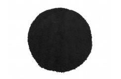 Dywan MONZA okrągły - czarny