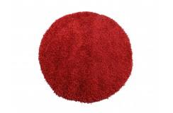 Dywan MONZA okrągły - czerwony