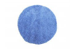 Dywan MONZA okrągły - niebieski