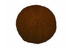 Dywan MONZA okrągły - brązowy