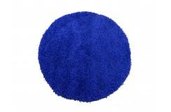 Dywan MONZA okrągły - kobaltowy