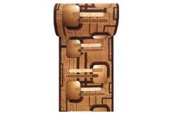 Dywan Chodnik AFRICA 16 - brązowy - 60 - 180cm