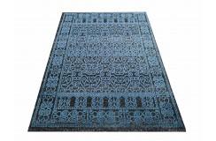 Dywan VINTAGE 01 - niebieski