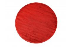 Dywan PATIO koło - czerwone (N)