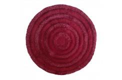 Dywan CIRCLES Bordowy 90 cm