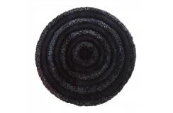Dywan CIRCLES Czarny 90 cm