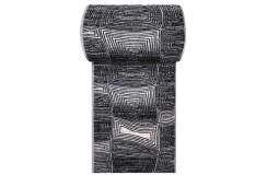 Chodnik dywanowy PASSION 06 - szary - szerokość od 60 cm do 120 cm